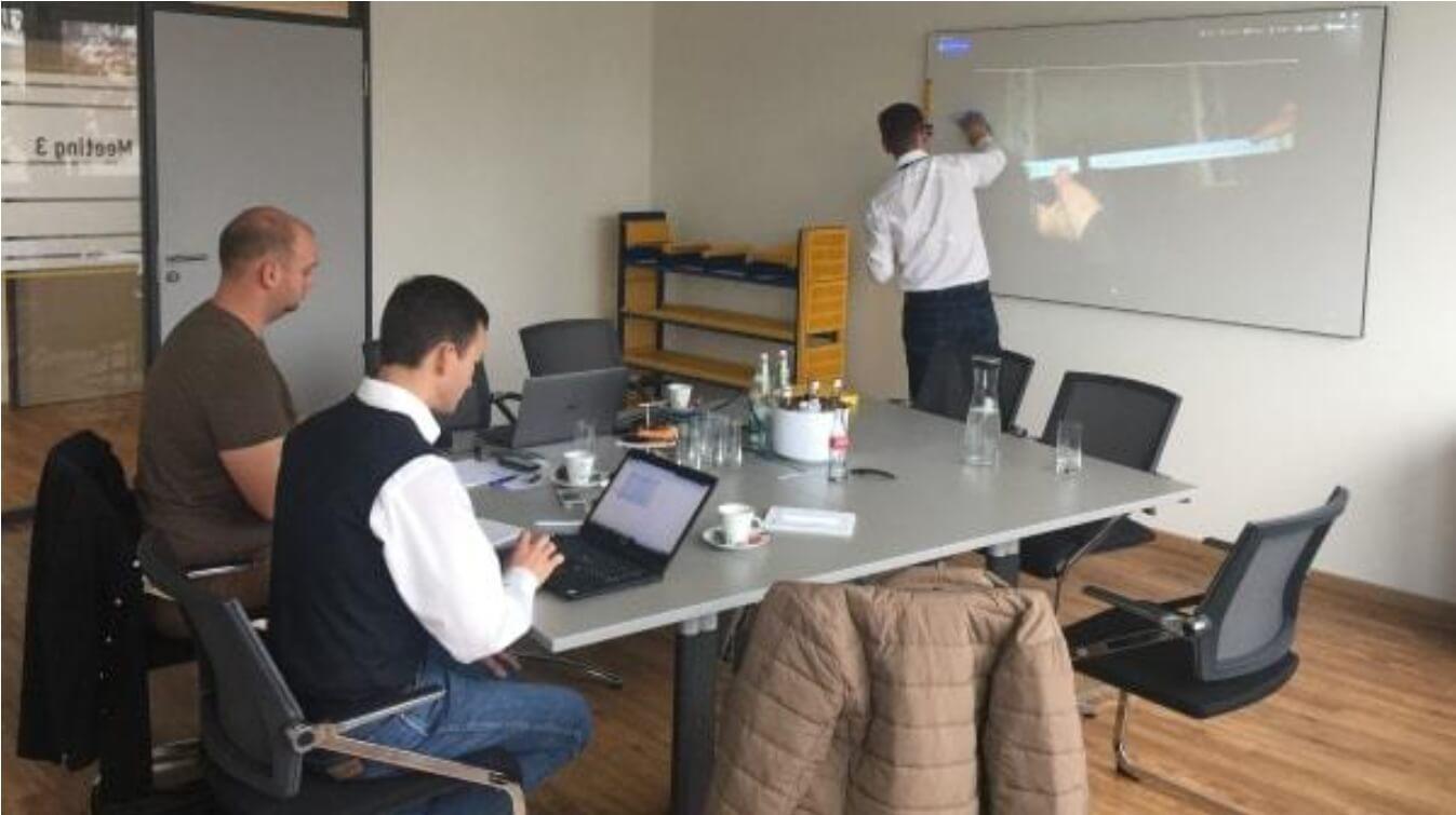 Представители «Актис Групп» посетили семинар Isenmann в Германии