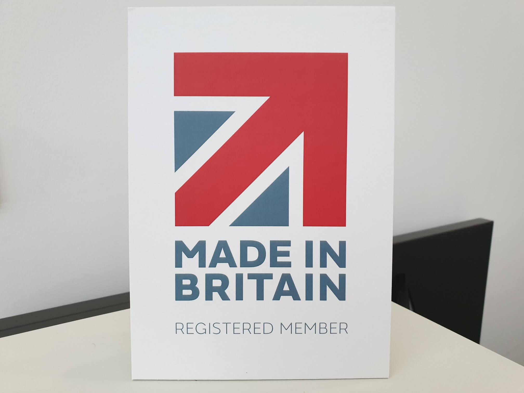 CMS Cepcor получил официальный знак MADE IN BRITAIN