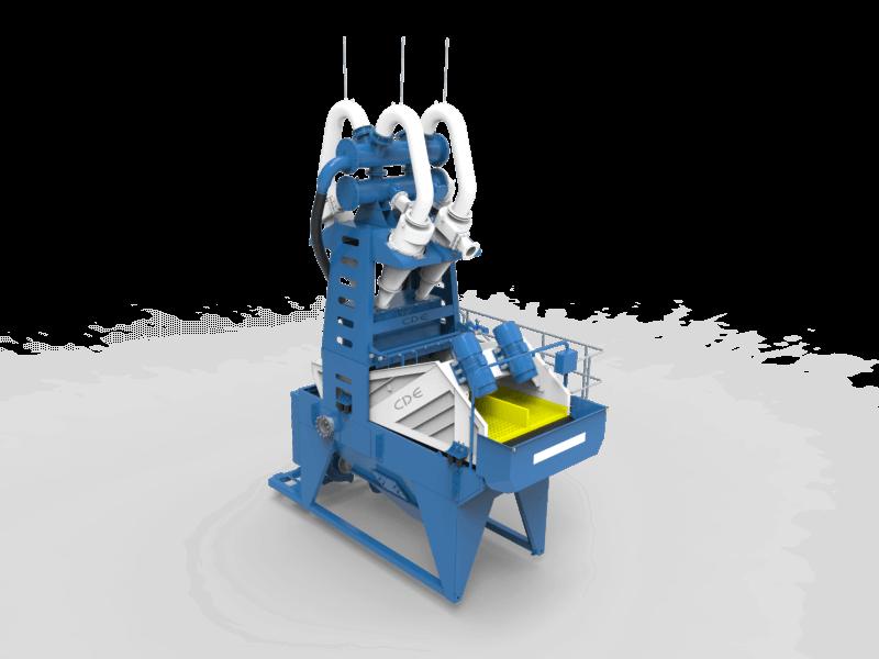 Система мийки піску та відсіву CDE EvoWash