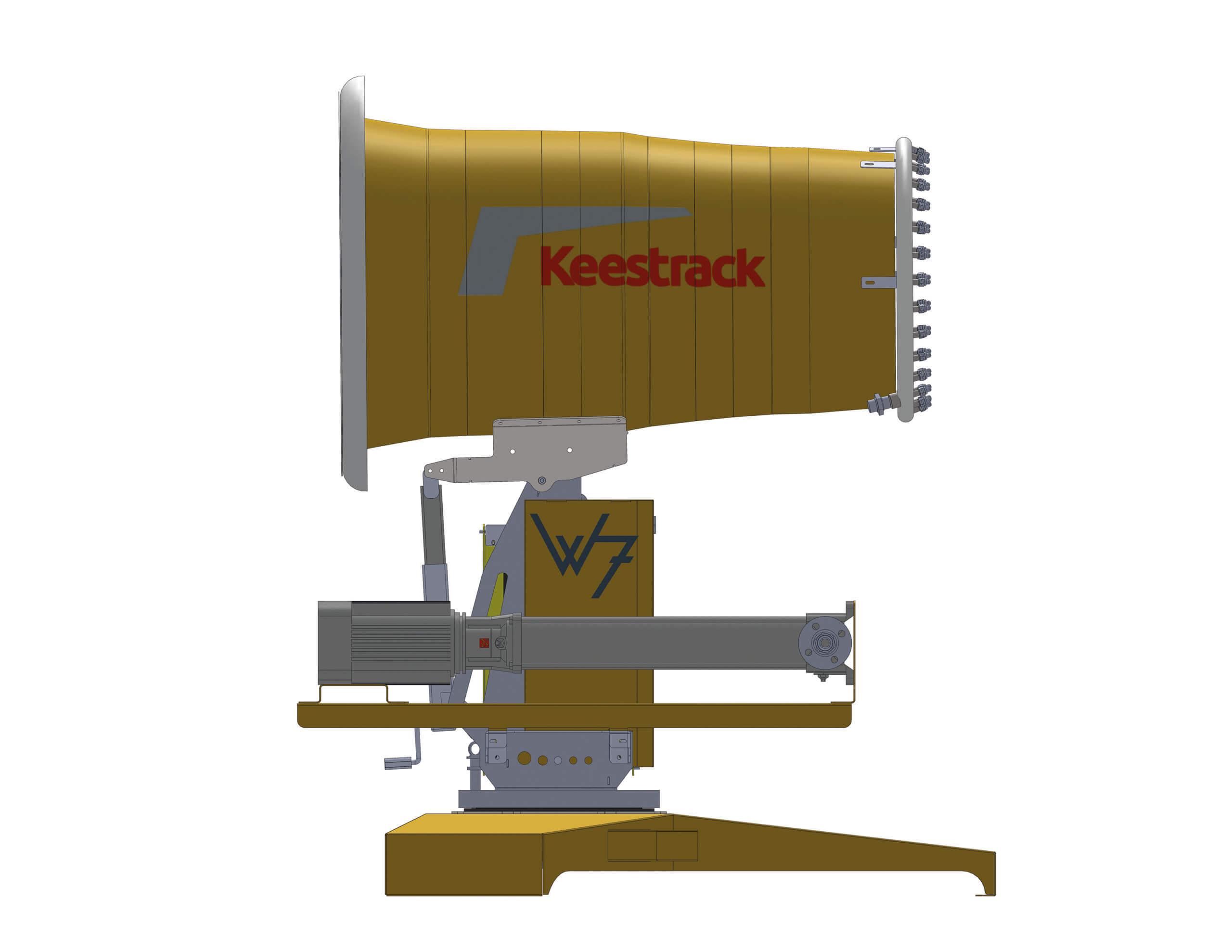 Система осадження пилу Keestrack W7