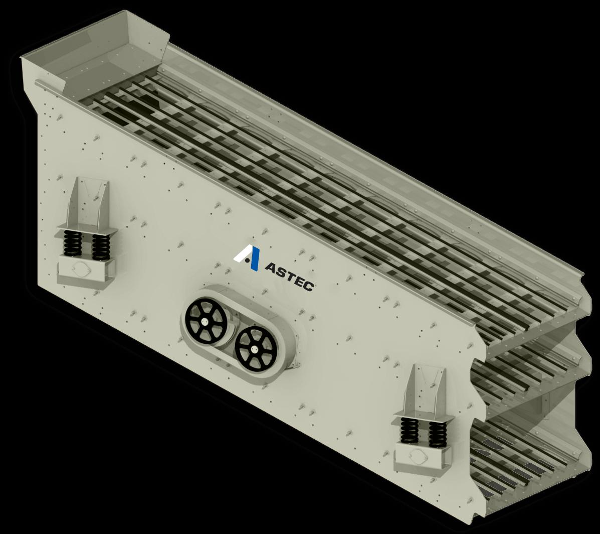 Наклонный грохот ASTEC Vibro-King TL